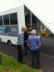 Consultation Tour Bus - York Road - June 2014
